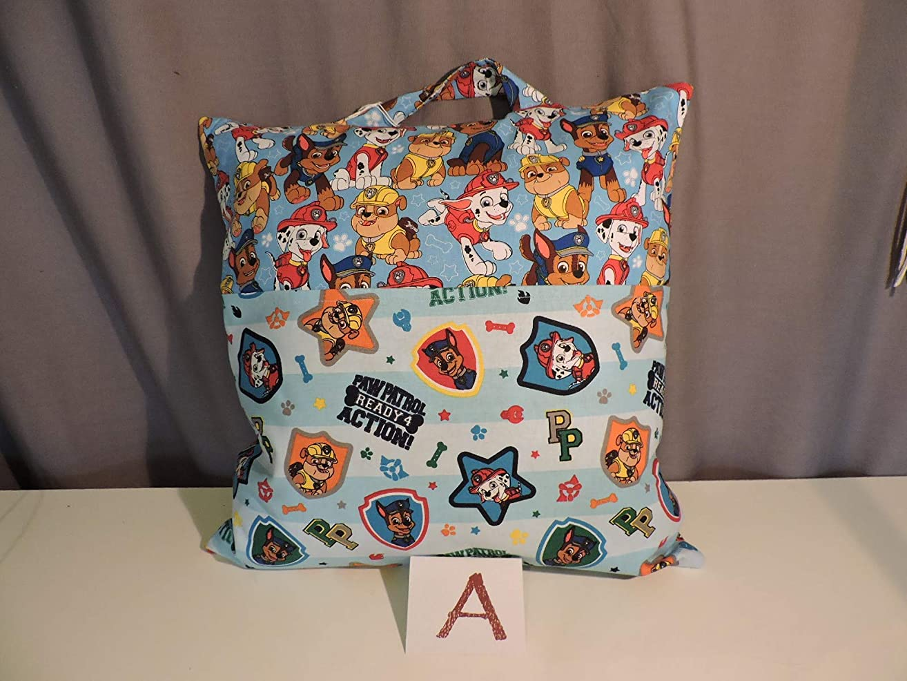 Reader Pillow with Paw Patrol; Child's Pillow; Pocket Pillow - 16