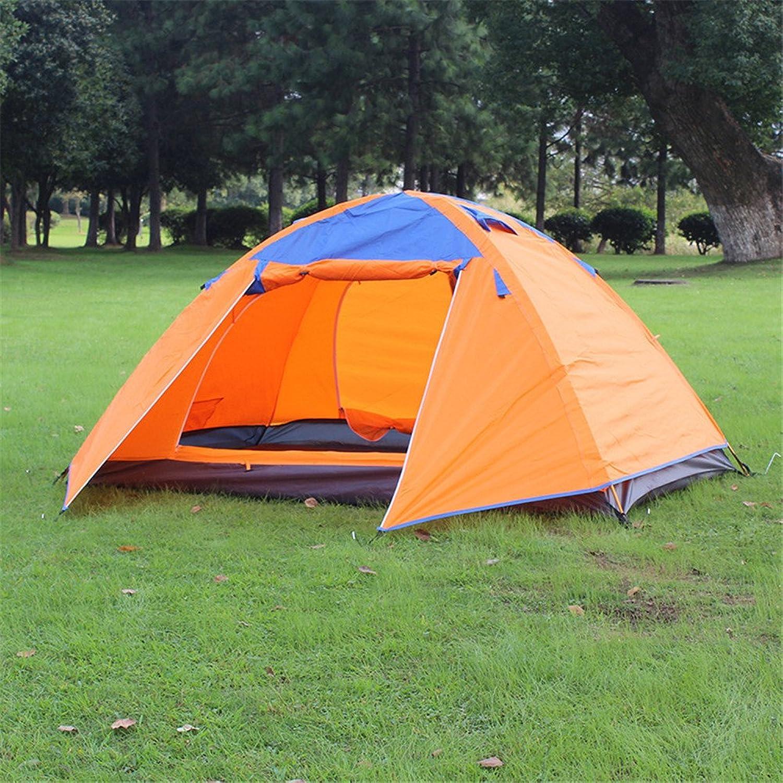 MONEYY Outdoor doppelt Aluminium Pol-regensturm Camping Zelt Anti-Schnee 200  150  110 cm Zelt B074TGNNBQ  Freizeit