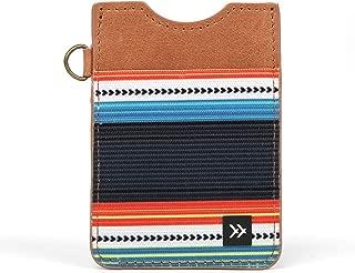 Slim Minimalist Wallet - Vertical Card Holder (Midnight)