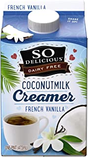 So Delicious, Coconut Creamer, Vanilla, 1 pt