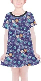 Rainbow Rules Sisters Forever Frozen Disney Inspired Girls T-Shirt Dress