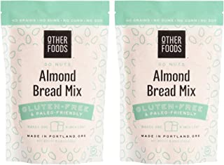 Other Foods Low Carb Almond Flour Bread Mix, Gluten-free Paleo Friendly Baking Mix - Easy to Bake - 100% Grain Free, Dairy...
