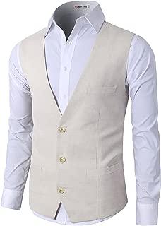 Best linen vest wedding Reviews