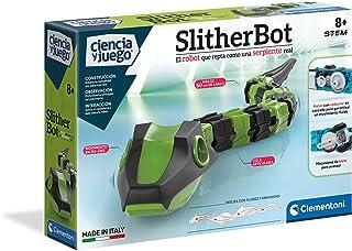 Clementoni-55396 - Slither Bot - robot para montar y jugar a partir de 8 años