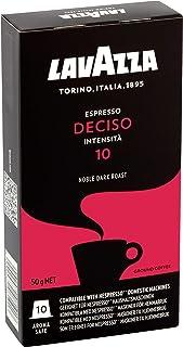 Lavazza Nespresso Compatible Deciso 10 Coffee Capsules