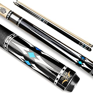 Tai ba cues Pool cue Stick,Linen Wrap Pool Stick cue, 13mm Leather Tip, 57
