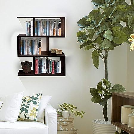 Klaxon Omega Book Shelf and Storage Unit | Display Unit (Brown)