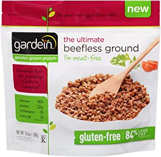 Gardein The Ultimate Beefless Ground, 13.7 Ounce -- 8 per case.