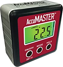 Calculated Industries 7434 AccuMASTER 2-in 1 Magnetic Digital Level and Angle Finder/Inclinometer/Bevel Gauge, Latest MEMs Technology, Certified IP54 Dust and Water Resistant