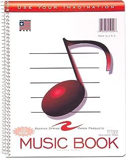 Roaring Spring Music Notebook, 11