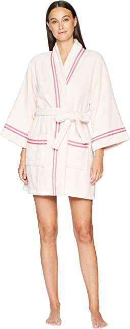 Cotton Terry Robe with Bow