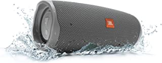 JBL Charge 4 Waterproof Portable Bluetooth Speaker with 20 Hour Battery - Gray