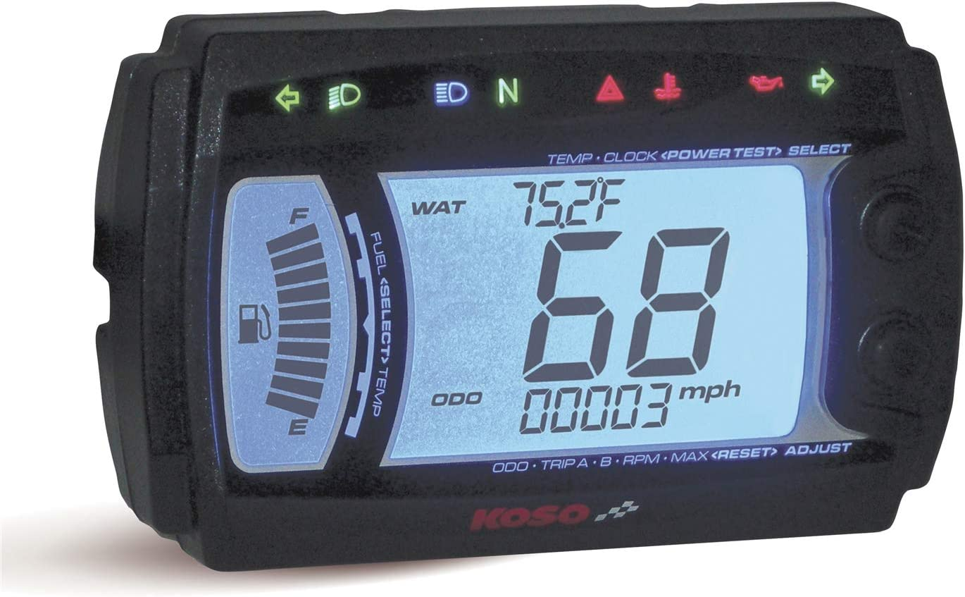 Koso North America XR-SR Multi Electronic B Speedometer OFFicial shop Function Japan Maker New