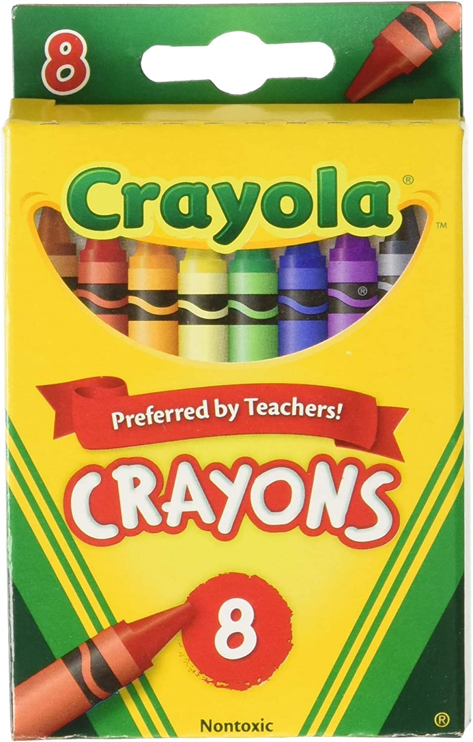 Crayola Max 88% OFF Crayons 8ct Pack 6 Assorted Max 74% OFF of