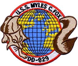 DD-829 USS Myles C Fox Patch