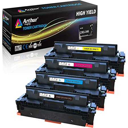 Toner Cartridge. 1-Pack Black 046H Compatible Toner Cartridge Repalcement for Canon Color Image Class LBP654Cdw MF735Cdw MF731Cdw MF733Cdw Printer