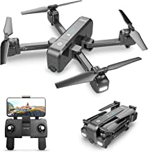 Holy Stone HS270 GPS 4K Drone with FHD FPV Camera Live Video for Adults, Portable Selfie Quadcopter for Beginners with Auto Return Home, Custom Flight Path, Follow Me, Long Control Range, Auto Hover