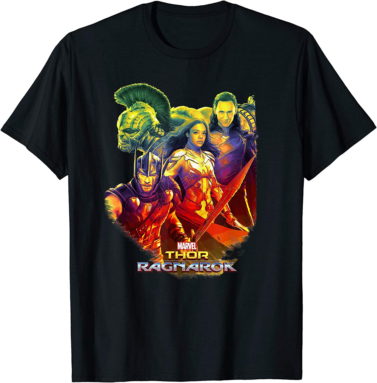 Mens Cotton Thor Loki Tank Top T-shirt T-shirts