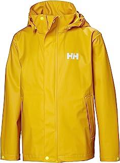 Helly-Hansen unisex-child Moss Classic Rain Coat Jacket With Full Rain Protection