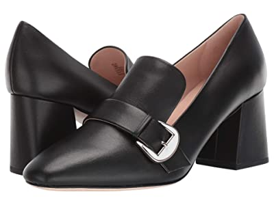 Kate Spade New York Alia (Black Leather) High Heels