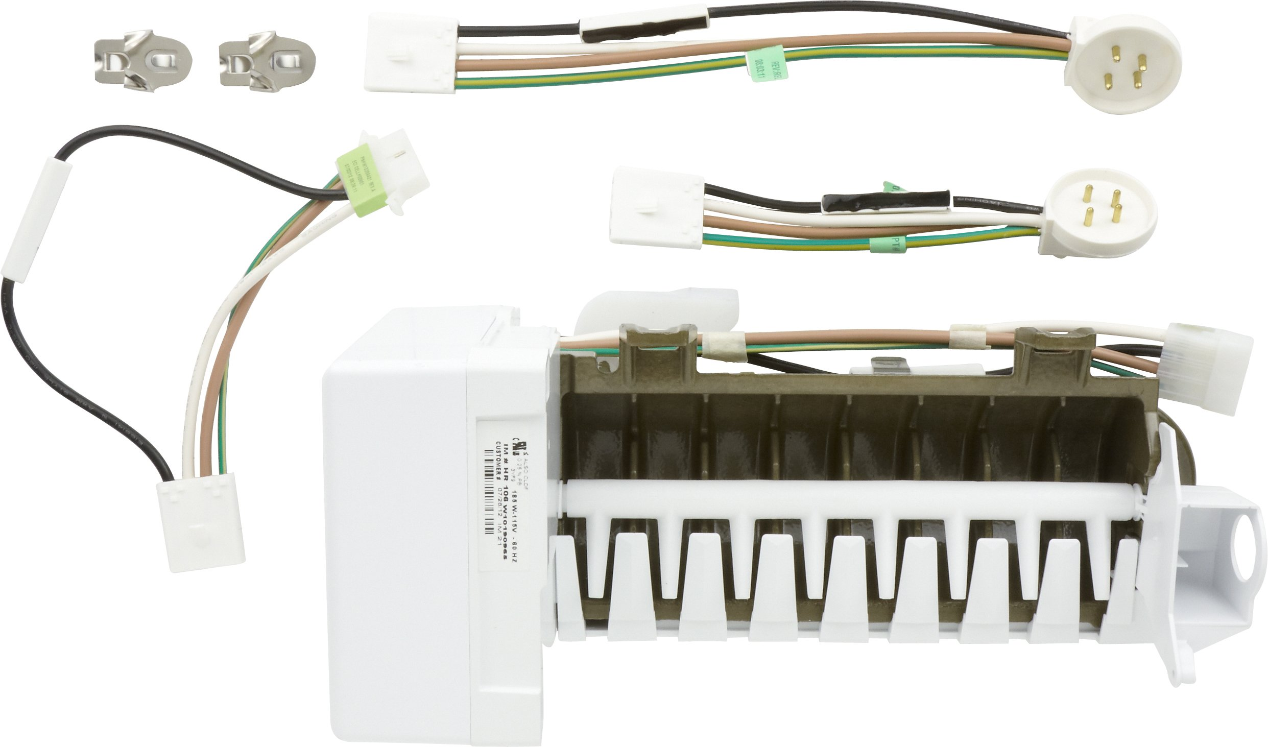 ice maker assembly likewise ice maker wiring harness on whirlpoolice maker kit amazon com rh amazon com