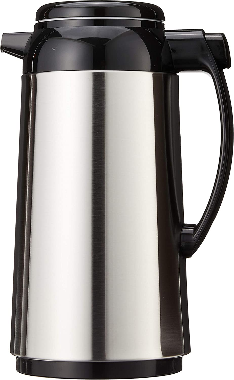 Zojirushi Premium Bargain sale Thermal Carafe 1.0-Liter Credence Brushed Stainless S