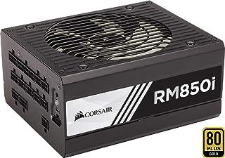 Corsair RM850i - Fuente de Alimentación (Completamente Modular, 80 Plus Gold, 850 Watt, Digital, EU), Color Negro