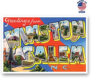winston salem postcards