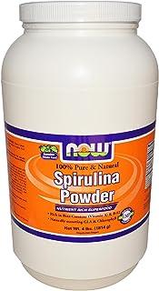 NOW Foods - Organic Spirulina Powder - 4 lbs.