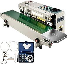 VEVOR Continue Horizontale Verzegelingsmachine FR900K Automatisch Zegelmachine Instelbaar Temperatuur 0-400 °C Sluitmachin...
