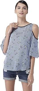 Styleville.in Women's Striped Regular fit Shirt