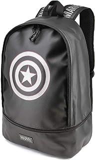 37808 Capitán América - Mochila Urban, Negro