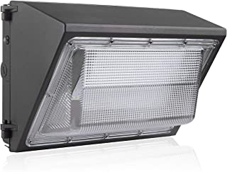 BloomGrow 60W Wall Pack LED Wall Lights 120V~277V 5000K Commercial Outdoor Light Fixture Commercial and Industrial Outdoor Lighting IP65 Waterproof (60W)