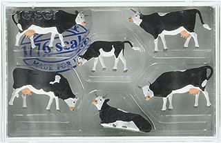 Preiser 73013 Cows Package(6) 1/76 Model Figure