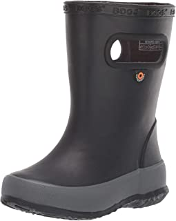 BOGS Kids' Skipper Solid Waterproof Rain Boot