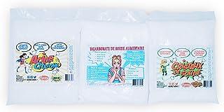 Lote de 3 – Bicarbonato 600 g – Ácido cítrico 600 g