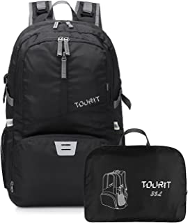 TOURIT Packable Travel Hiking Backpack Foldable Daypack