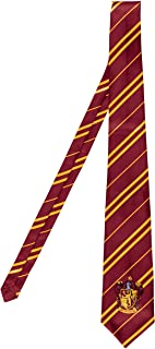 Disguise Harry Potter Necktie Costume Accessory, Movie Quality Hogwarts House Themed Character Dress Up Tie for Adults
