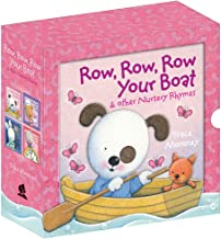 Row, Row, Row Your Boat and other Nursery Rhymes: 4 x 3D Board Book Box Set