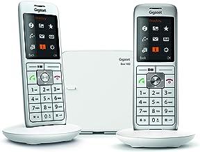 Gigaset CL660 Analog/DECT Telephone Gris Identificador de Llamadas - Teléfono (Analog/DECT Telephone, Terminal inalámbrico, Altavoz, 400 entradas, Identificador de Llamadas, Gris)