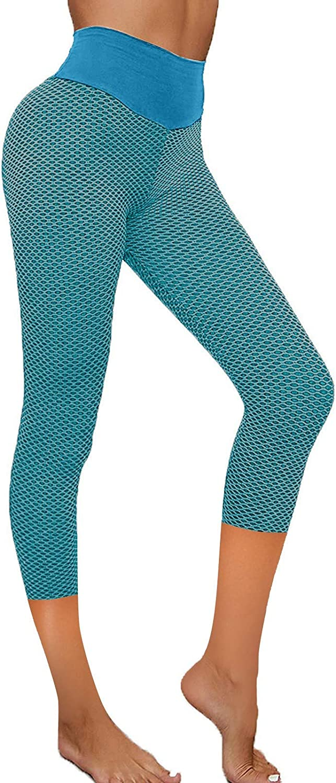 Leggings for Women Butt LiftIing High Waist Yoga Leggings Stretch Fitness Running Sports Pants