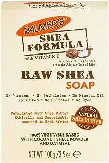 Palmer's Shea Formula Moisturizing Raw Shea Butter Soap | 3.5 Ounces (Pack of 12)