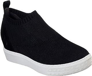 حذاء رياضي للنساء من Skechers Street Lift Off - Weaver Fever حذاء رياضي، أسود، 9. 5