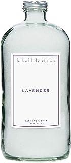 k. hall designs Lavender Bath Soak 32 oz.