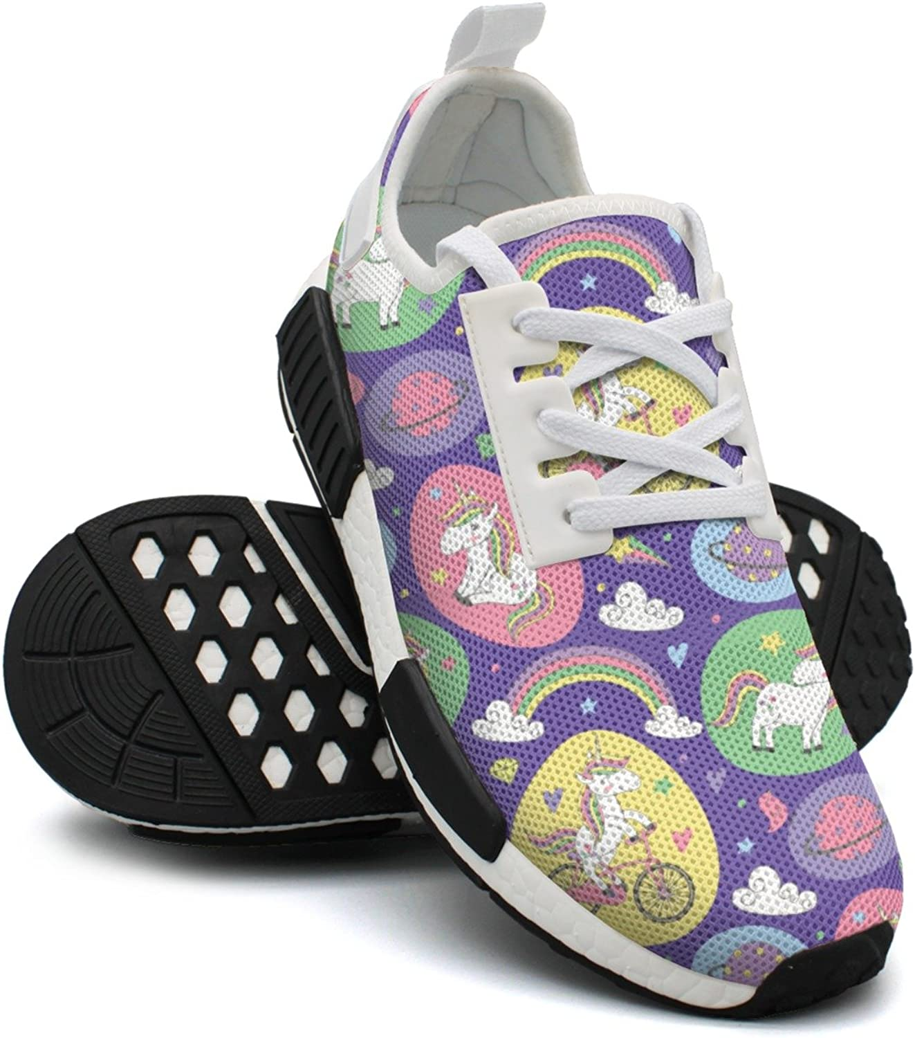 Purple Star Magic Rainbow Unicorn Sport Womens Running shoes NMD
