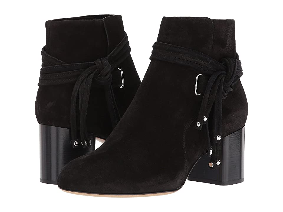 rag & bone Dalia II Boot (Black Suede) Women