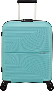 American Tourister Airconic Hardside Spinner Suitcase, 55 Centimeter, Purist Blue
