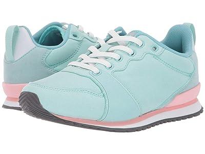 Native Kids Shoes Dartmouth (Little Kid) (Piedmont Blue/Shell White/Princess Pink/Dublin Rubber) Girl