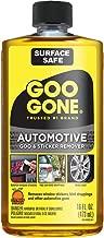 Goo Gone Automotive - Cleans Auto Interiors, Auto Bodies and Rims, Removes Bugs & Stickers - 16 Fl. Oz.