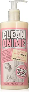 Soap and Glory Clean On Me Shower Gel and Body Lotion 500 ml